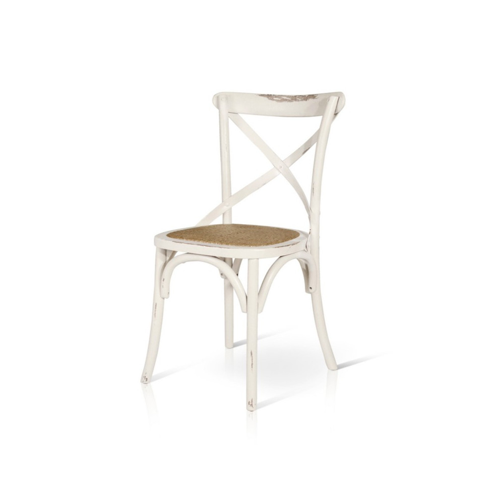 Felix chair in vintage aged effect wood,