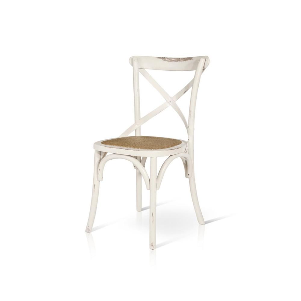 Sedia Felix in legno effetto invecchiato