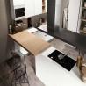 Cucina Caprera componibile, con apertura