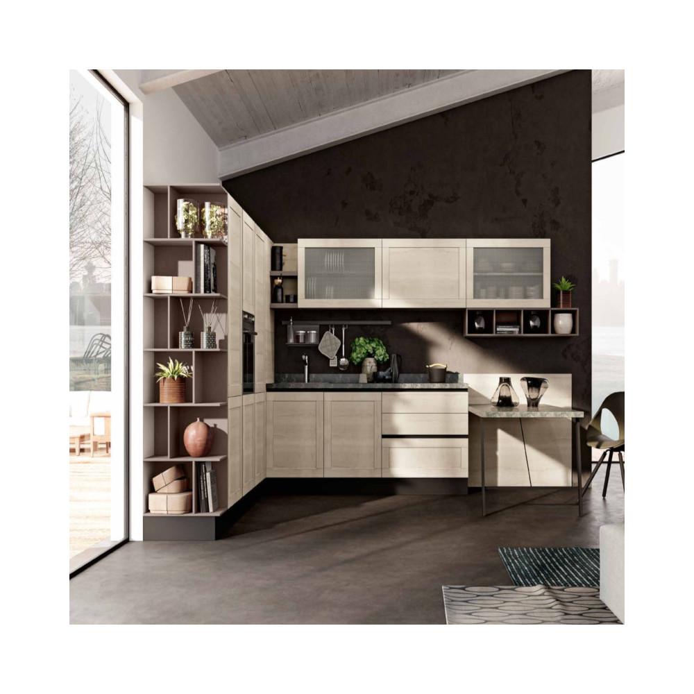 Cucina Lipari componibile, con apertura