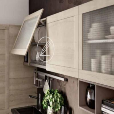 Modular Lipari kitchen, with sail