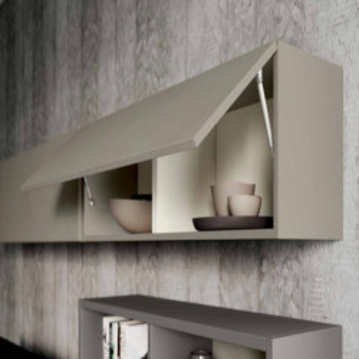 Living room Saturno 302, color Clay, Bronze QSM302