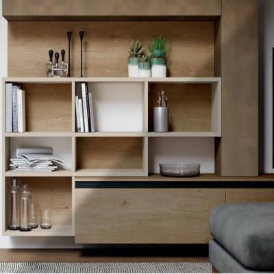 Saturno 305 living room, copper oxide