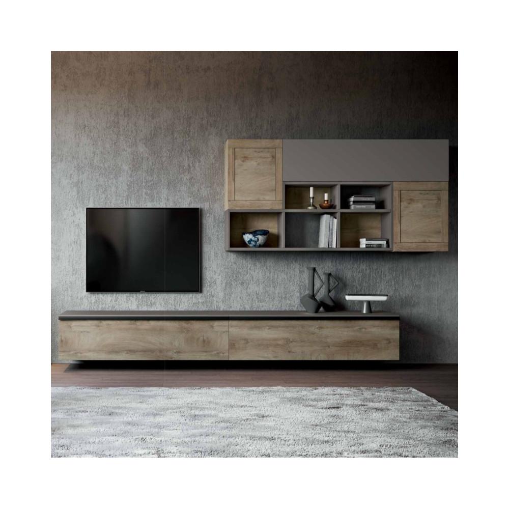 Living room Saturno 309, color Ash gray,