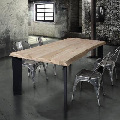 Table fixe de base en bois...