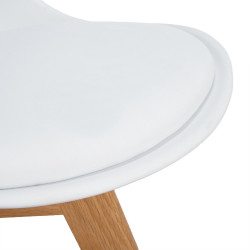 Tulip chair with seat and back in pp,