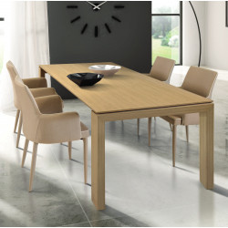 Torino extendable table in...