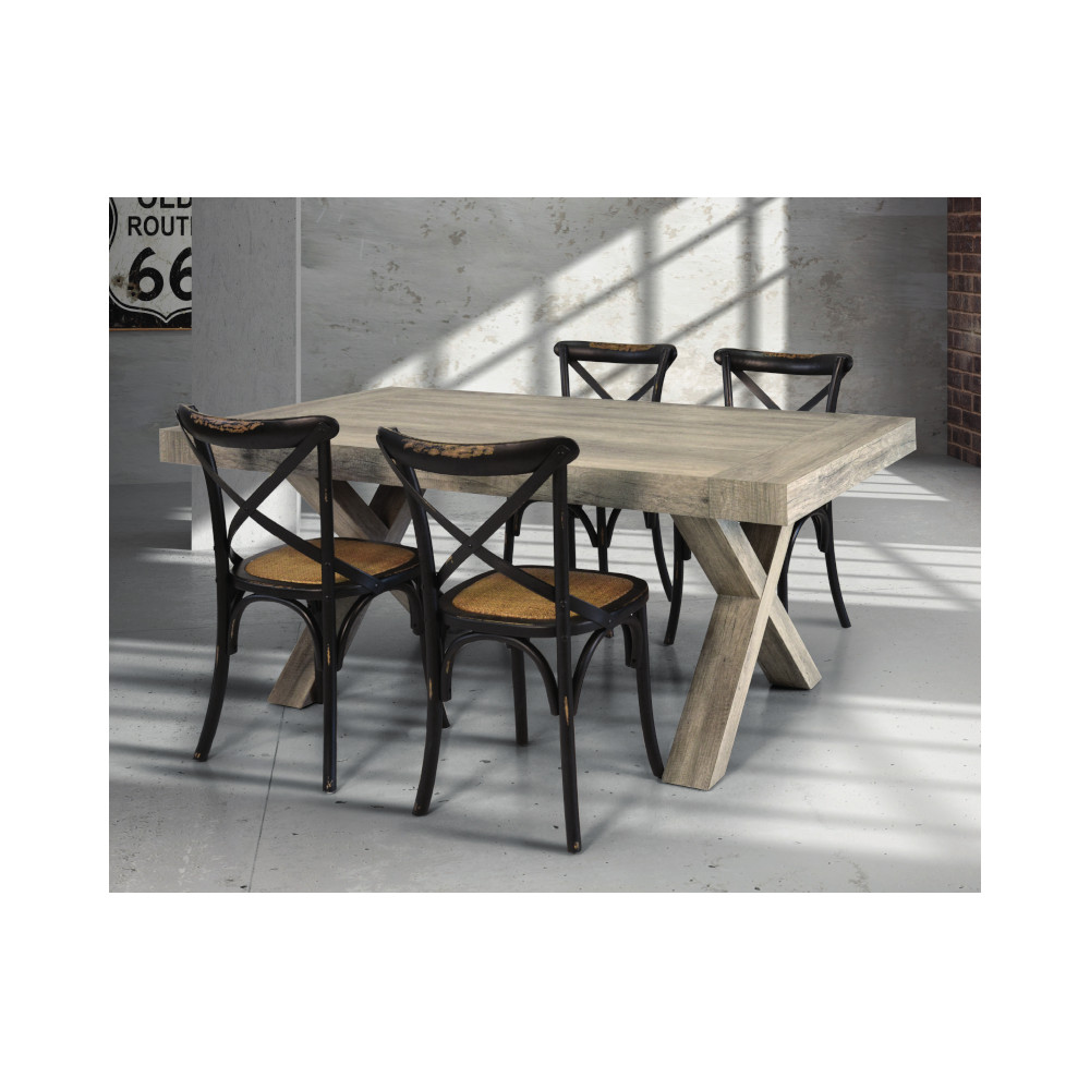 Extendable Keros table, in laminate with