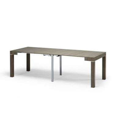 Panarea 2 console table in dove gray ash