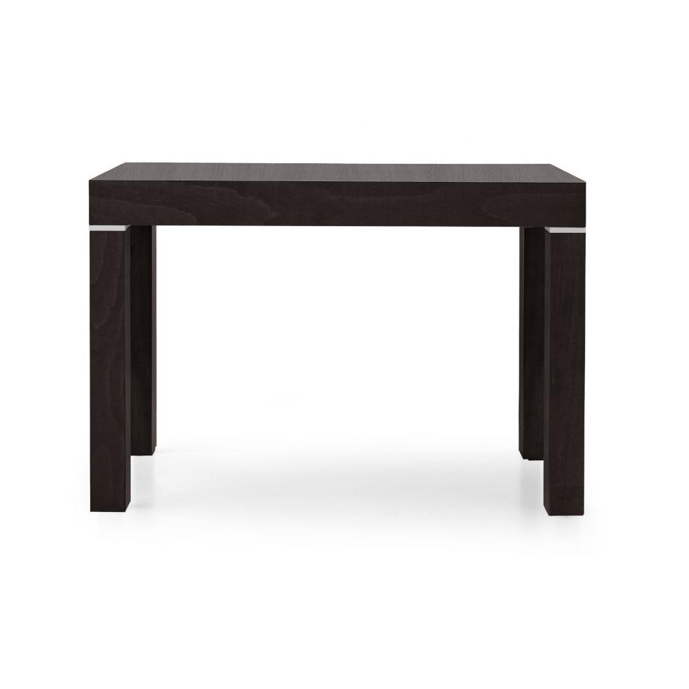 Panarea 1 console table in dark wenge
