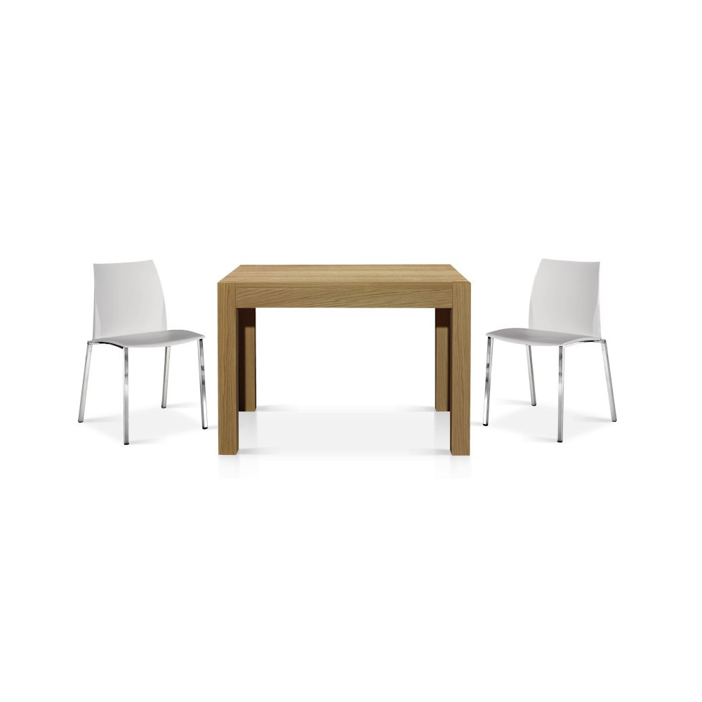 Ibiza extendable table in solid wood,