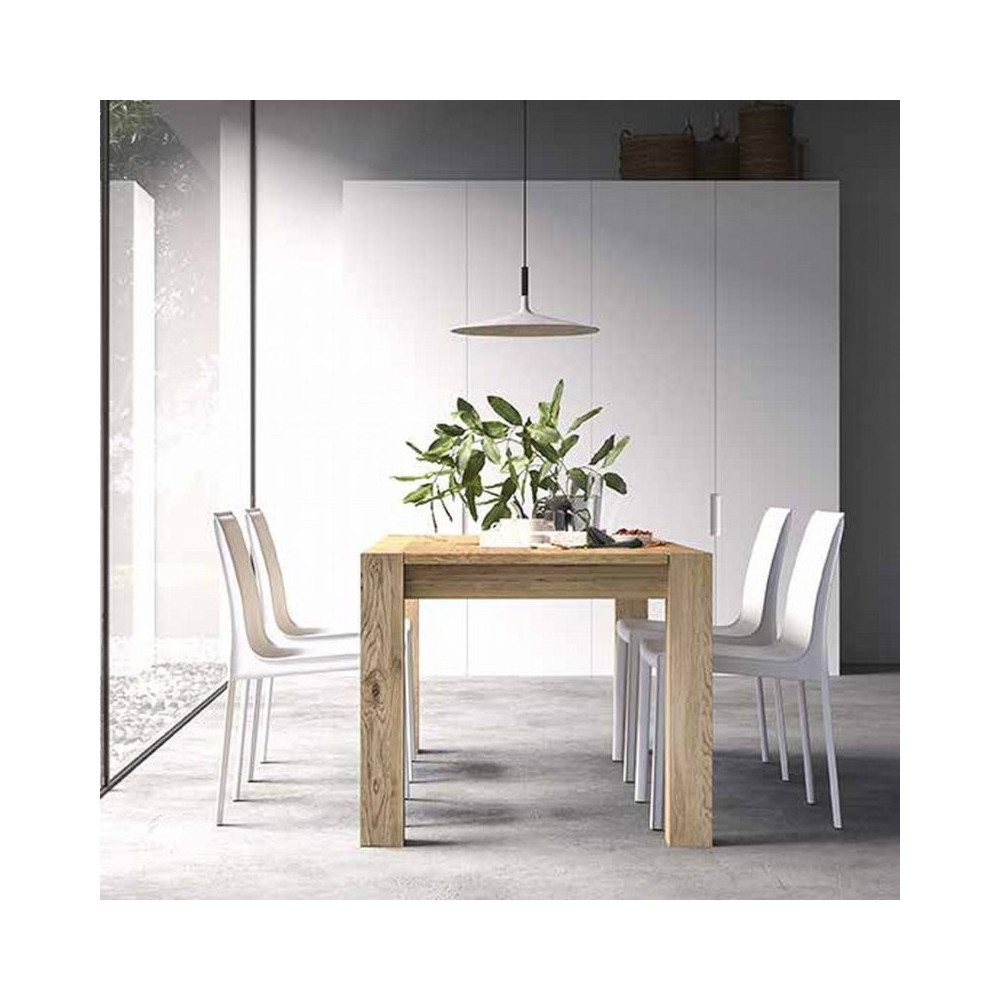 Capri extendable table with structure