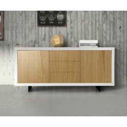 Alba sideboard with white...
