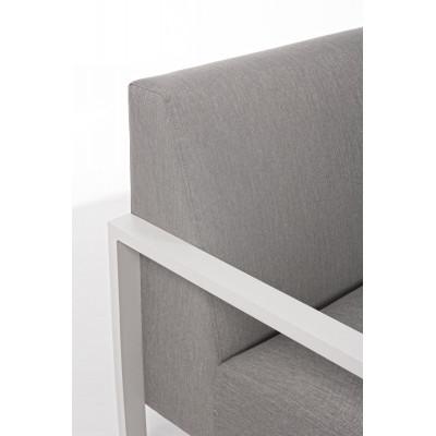 Nives KS01 outdoor lounge, white
