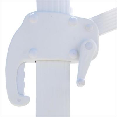 Ombrellone braccio Bahia 3x4 telo bianco