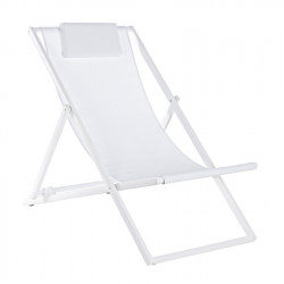 Taylor deck chair, white...