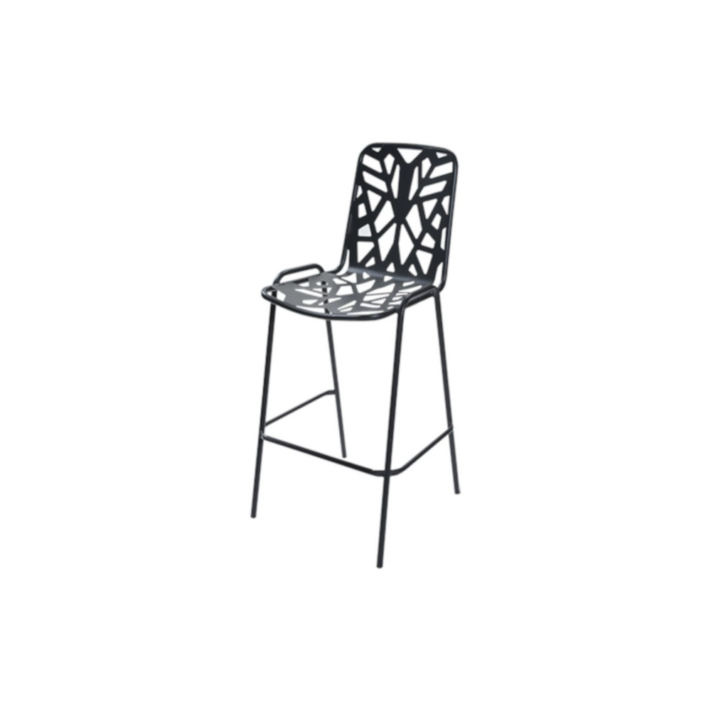 Fancy Leaf 75 outdoor stool seat and