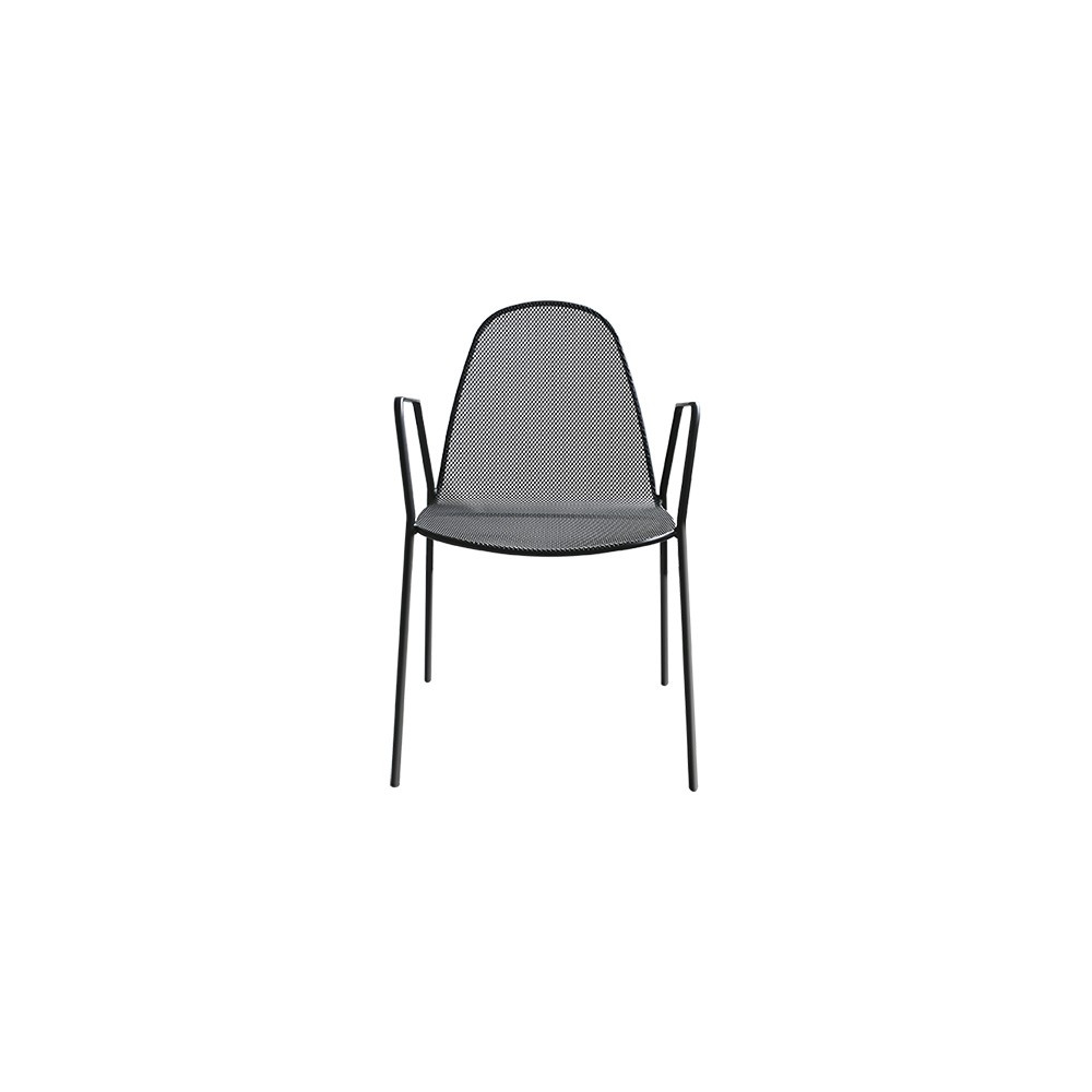 Mirabella 2 outdoor chair, anthracite
