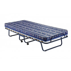 Bergamo folding bed with profiled tube structure and multilayer wood strips