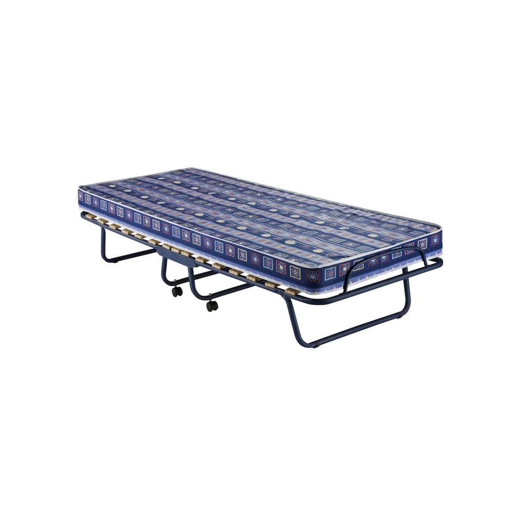 Bergamo folding bed with profiled tube