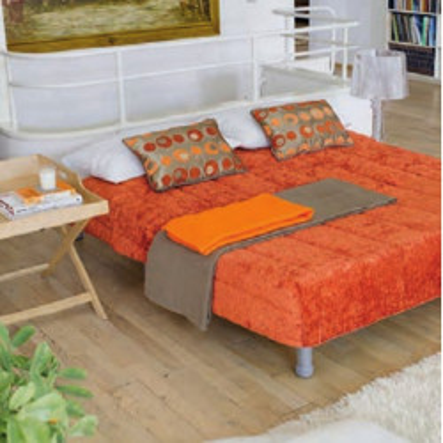 Hopplà Cucciolo 2 bed with electro-welded mesh