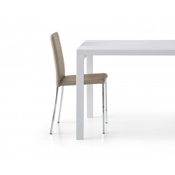 Venus chair in eco-leather, structure