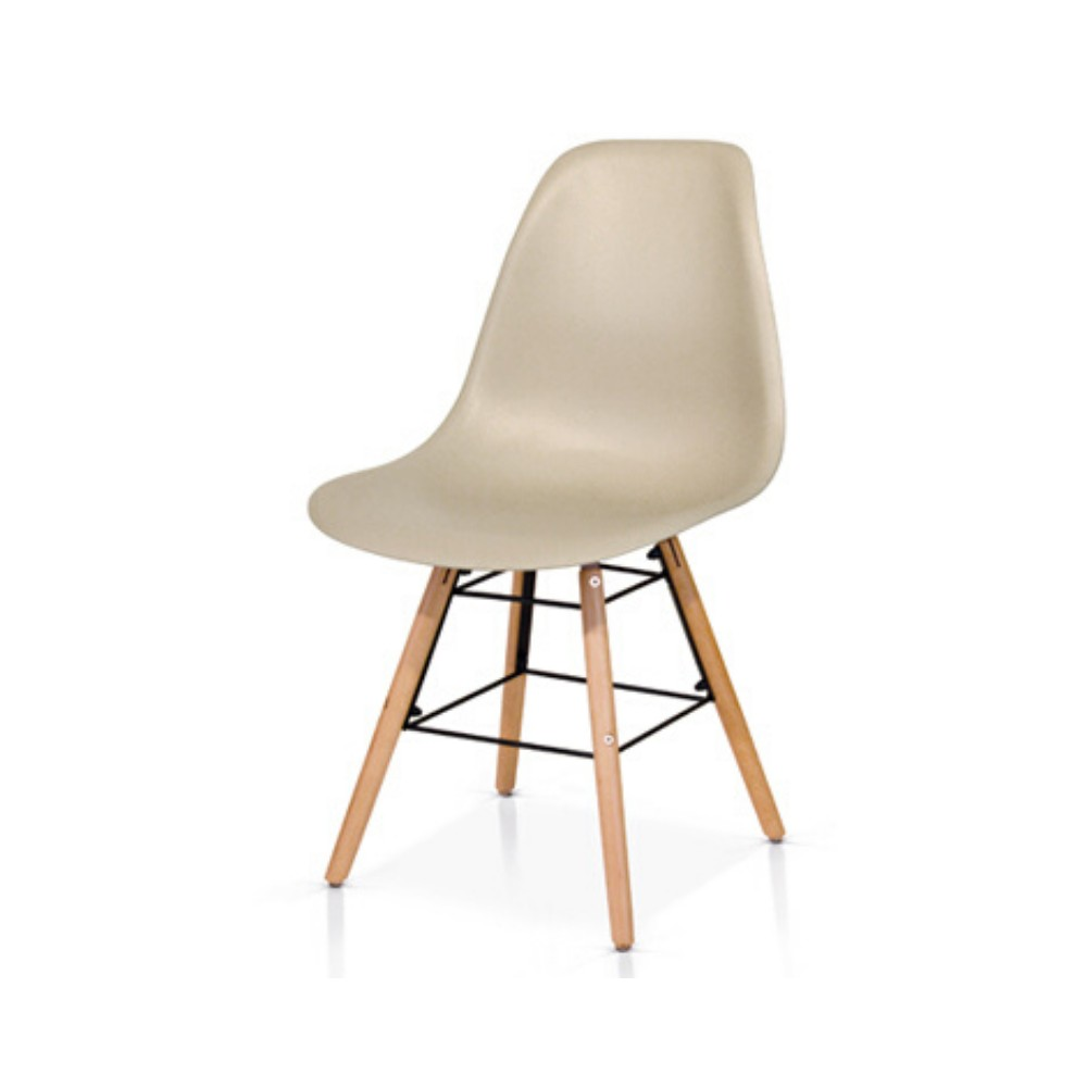 Livorno chair with seat in PP and legs