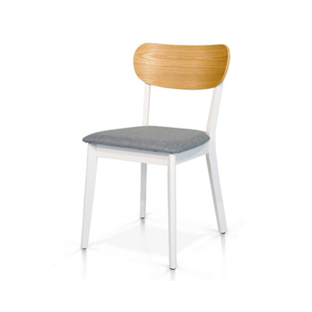 Stockholm chair in beech wood and fabric