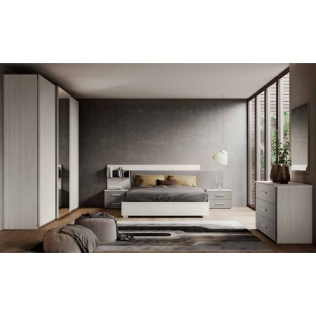 Erica room, complete with 3 sliding doors wardrobe, container bed