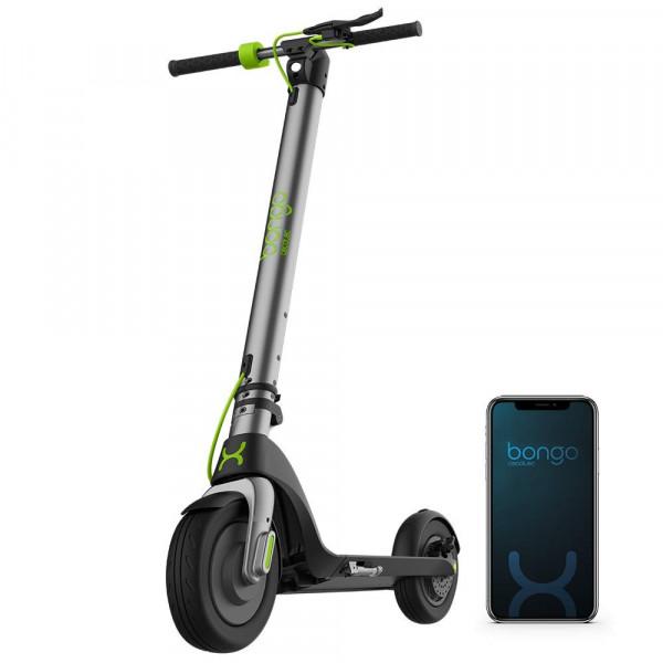 Bongo Serie A Trottinette électrique connectée 700 W avec batterie amovible et interchangeable jusqu'à 25 km d'autonomie