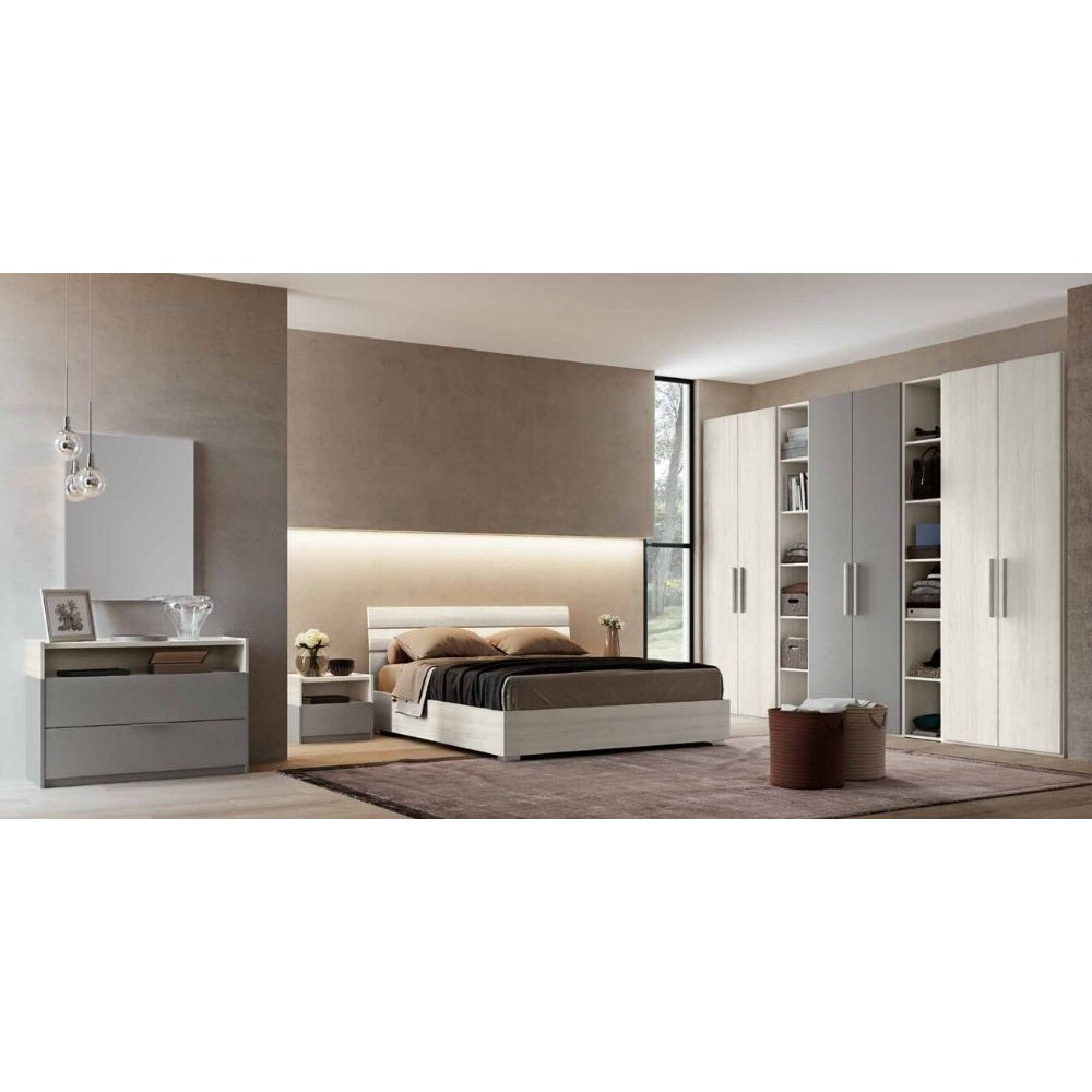 Chambre Gaia, complète avec armoire,