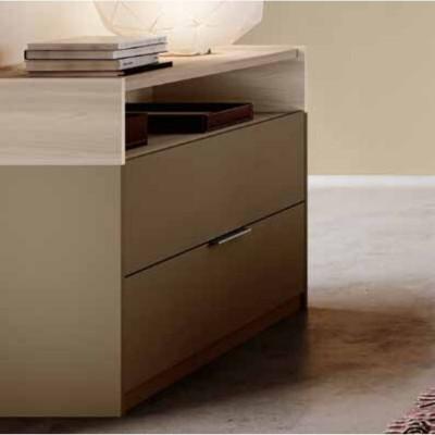 Camera Tina, completa di armadio ante scorrevoli e letto contenitore