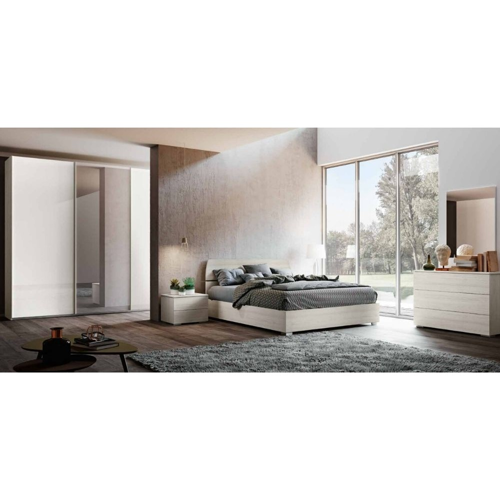 Camera da letto completa Liana, armadio