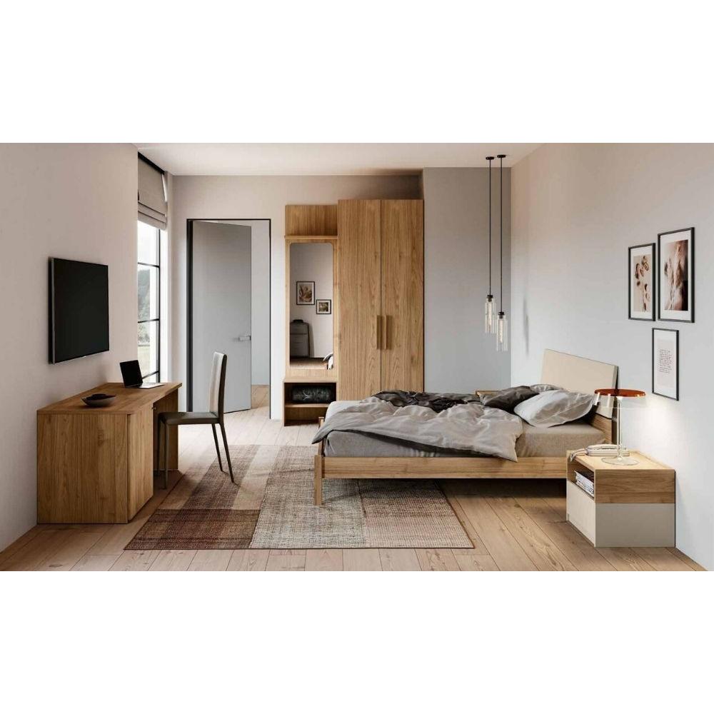Chambre Cristel, armoire avec boiseries