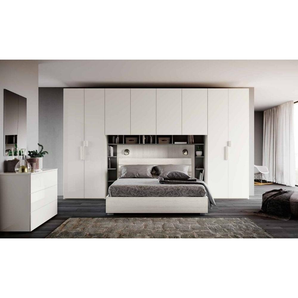 Zara bedroom, bridge wardrobe and