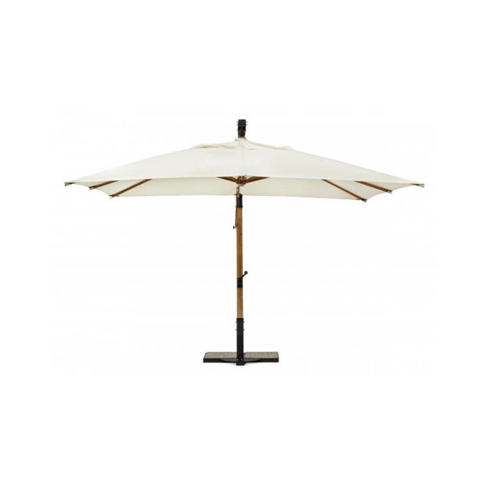 Parapluie bras Capua, 3X3 couleur écru,