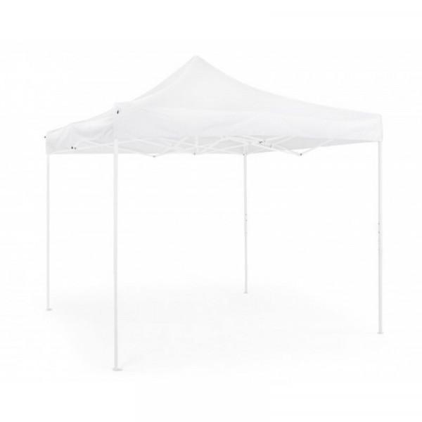 Gazebo Pandora 3X3 steel structure, white Oxford polyester fabric