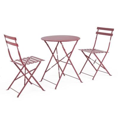 Ensemble table et 2 chaises...