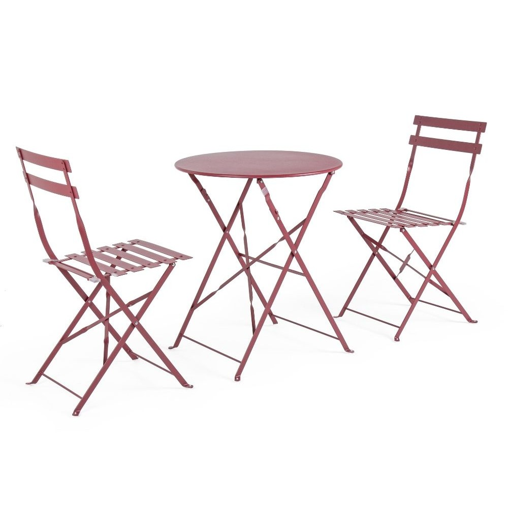 Bistrot Wissant Scarlet set tavolo e 2