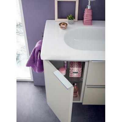 Sanseno bathroom depth 45 cm, Matt Hemp