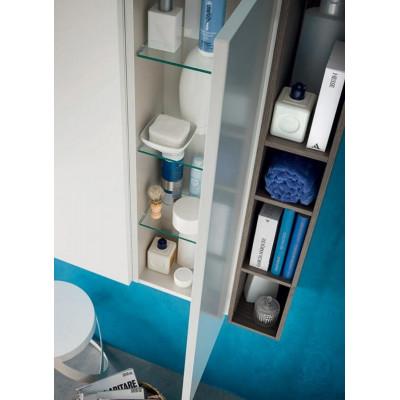Ares bathroom depth 45 cm, Ash Elm color