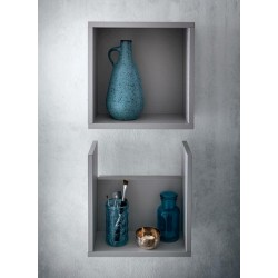 Rovigo bathroom, depth 50 cm, color
