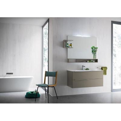 Salle de bain Venus profondeur 50 cm, coloris Chanvre mat