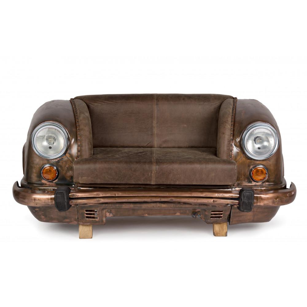 Ambassador 2 seater sofa with genuine