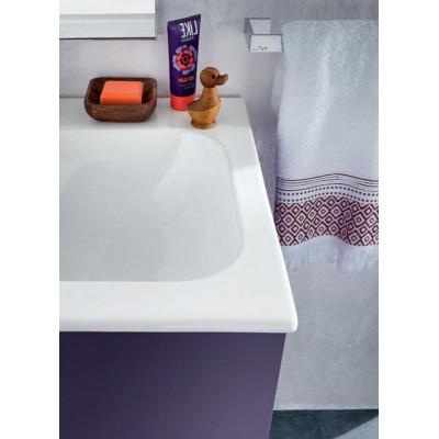 Lido bathroom depth 50 cm, color Iris