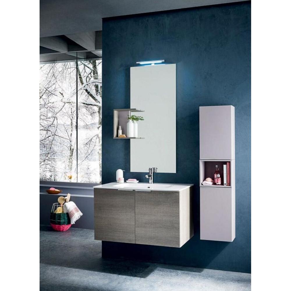 Sondrio bathroom depth 50 cm, color