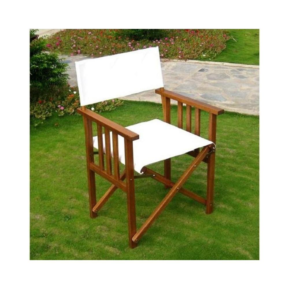 Amicasa outdoor armchair Eucalyptus wood
