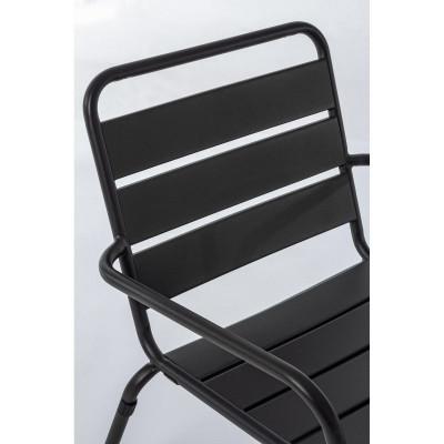 Marlyn outdoor armchair in steel,