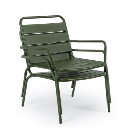 Marlyn Forest outdoor armchair in steel,