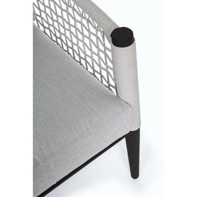 Poltrona C-C Calypso struttura alluminio